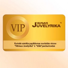 nuolaidų VIP kortelė
