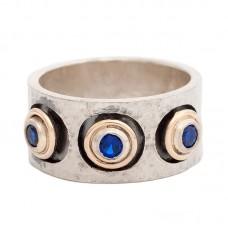 sidabrinis žiedas su špineliu